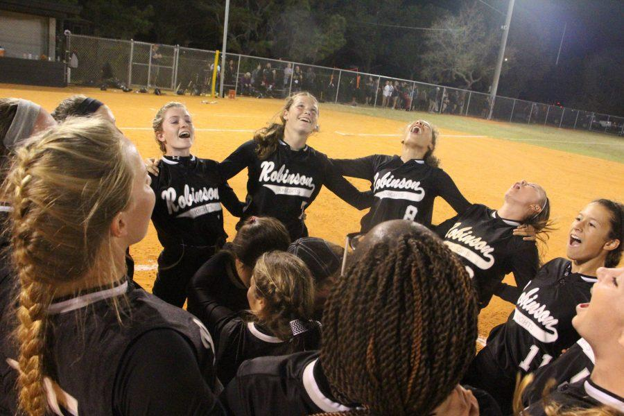 Lady Knights make history, beat Plant 4-0