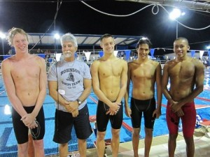 Boys' Swim Team Goes To States