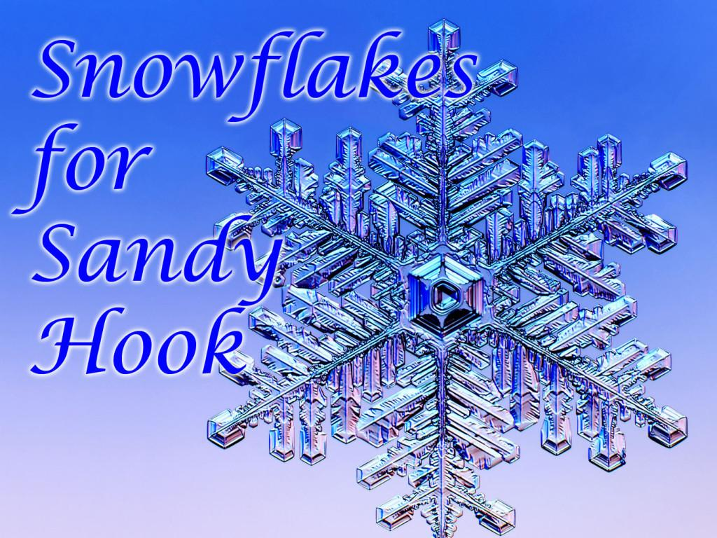Art Students Create Snowflakes for Sandy Hook Elementary