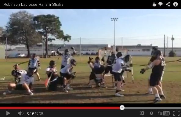 The Knights Lacrosse team presents their version of the Harlem Shake.