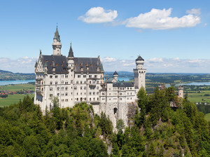The Neuschwanstein Castle, in southern Germany, is one of the spots students will travel to during the June 2014 trip. The 19th century castle receives over 1.3 million visitors annually and was used as inspiration for the Cinderella Castle in Disney World.