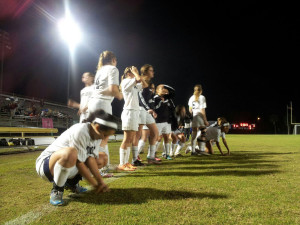 Girls Soccer End Playoff Run to Largo, 2-1