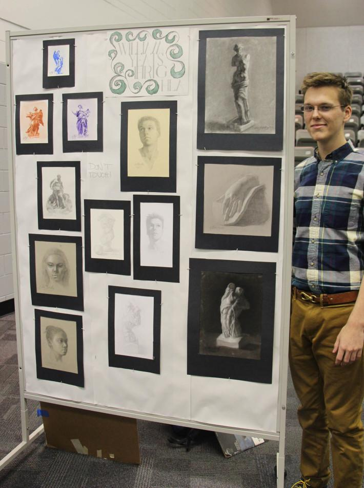IB Art Students Showcase Their Work