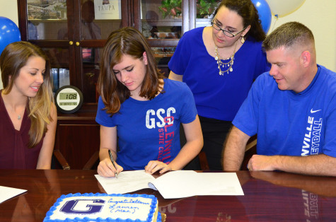Glenville State College Signs Their Newest Pioneer