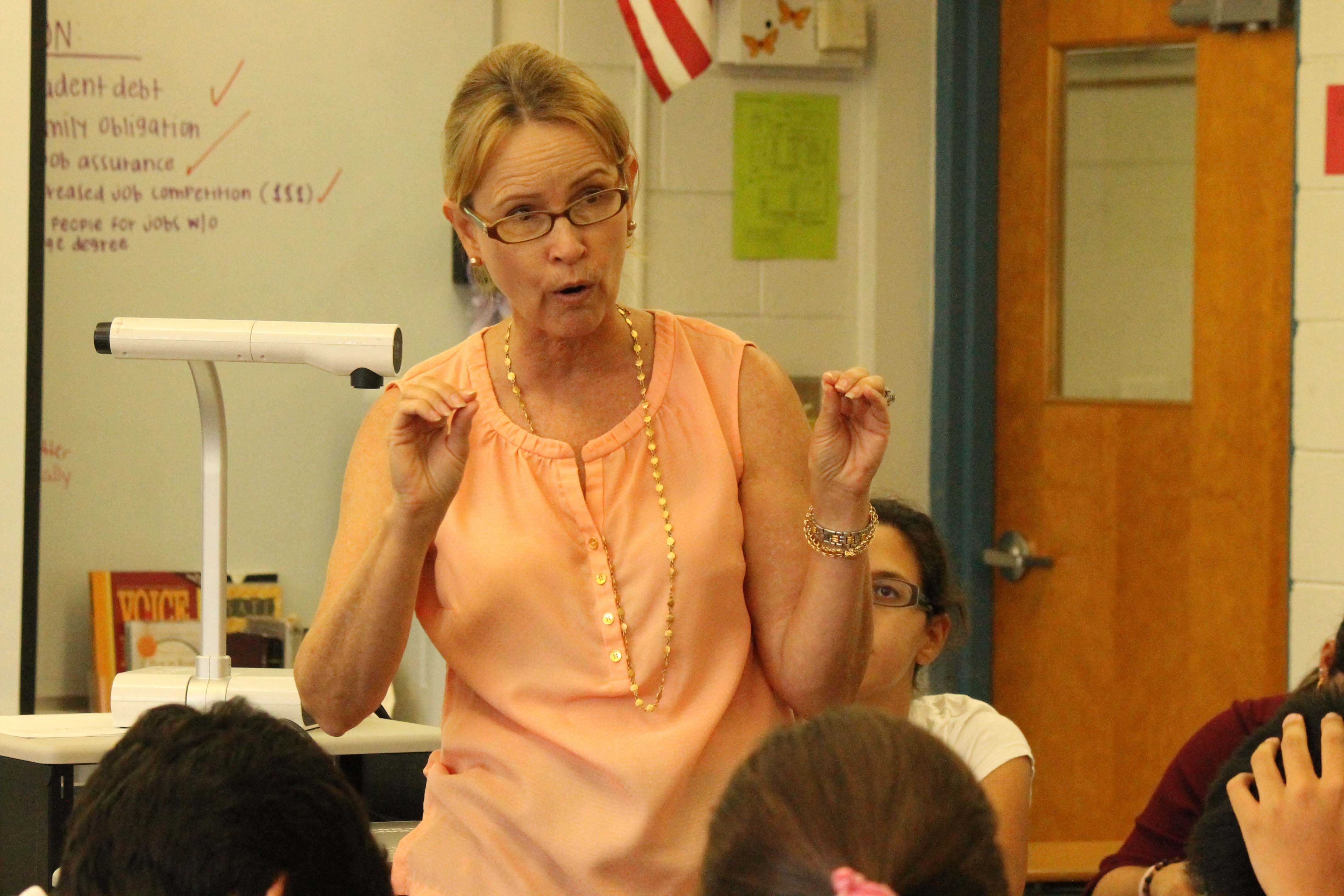 English teacher Susan DiFederico was diagnosed with breast cancer over Thanksgiving break.