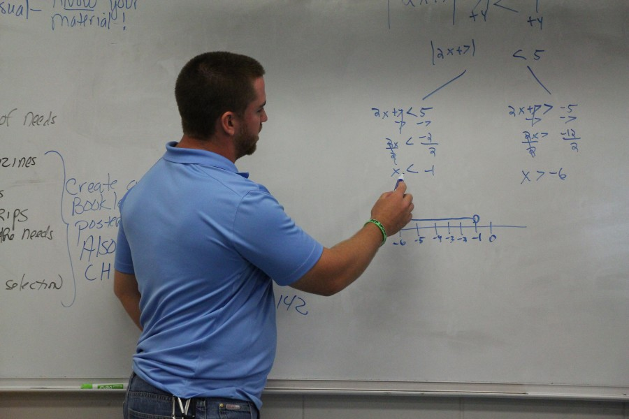 Math Teacher Hired to Fill Position