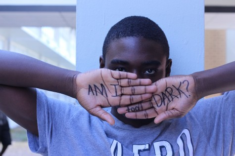 I am not the color of my skin ~ Savon Crumity ('16)