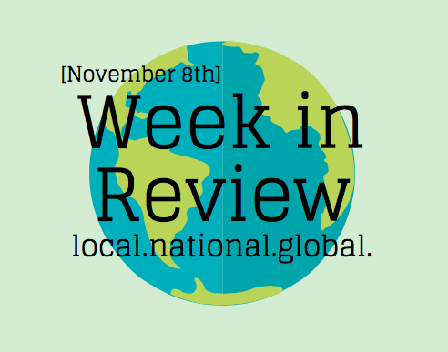 Week in Review: November 8th