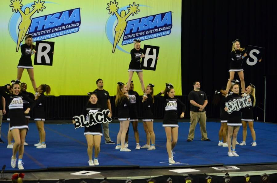 The cheer competition was held in Kissimmee , Fla.