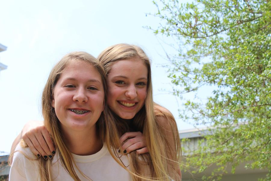 Kempton and Borucke  have been inseparable throughout their first year together in school.