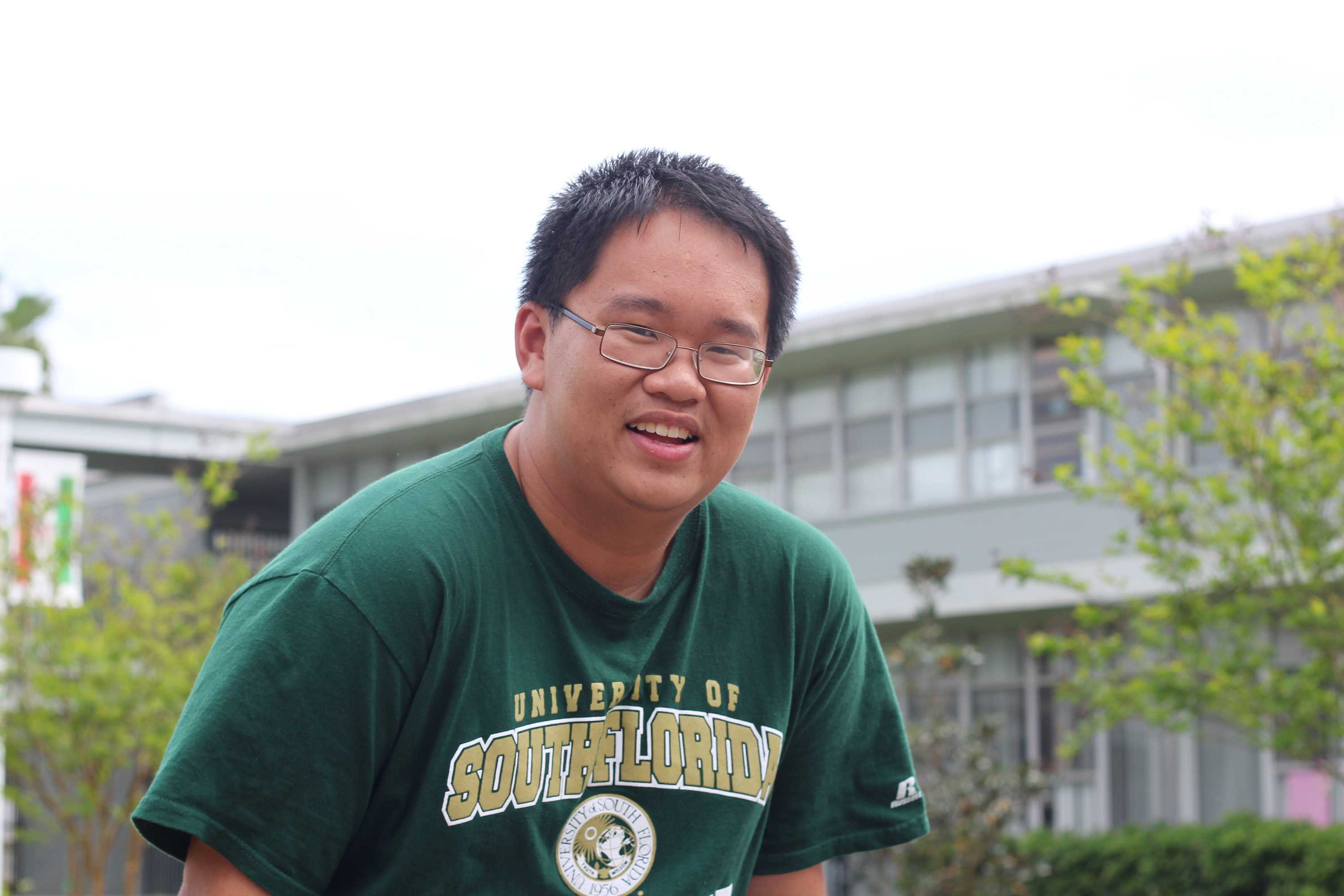 Phillip Pham ('15) will be graduating this year despite the fact he will not turn 17 until August.