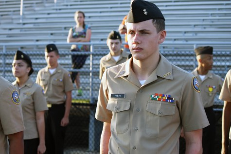 """""""ROTC has taught me to care about something more than just myself, since we have to work together to function as a unit. The one major skill ROTC awards you with is self confidence - a skill which is useful no matter what you're planning on doing in life. I moved here from Norway, on a military assignment, and It saddens me that I only get 2 years of ROTC since I would have enjoyed 4 full years, but ROTC gives me invaluable leadership experience for the future which will be handy if I decide to join the military."""" Magnus Hanevik ('16)"""