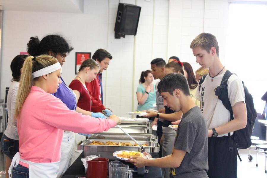 Seniors are the first to be served.