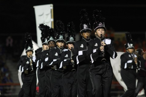 Hours of Practice Pay off for Marching Band at MPA