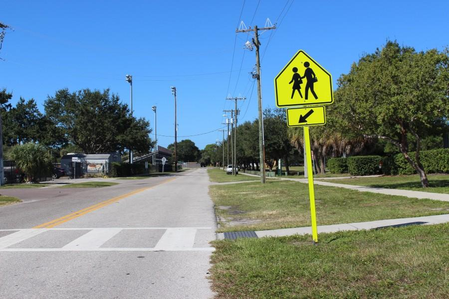 Felt+strongly+encourages+pedestrians+to+use+crosswalks+such+as+this+one.