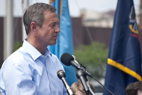 Presidential Candidate Martin O'Malley speaks in Maryland.