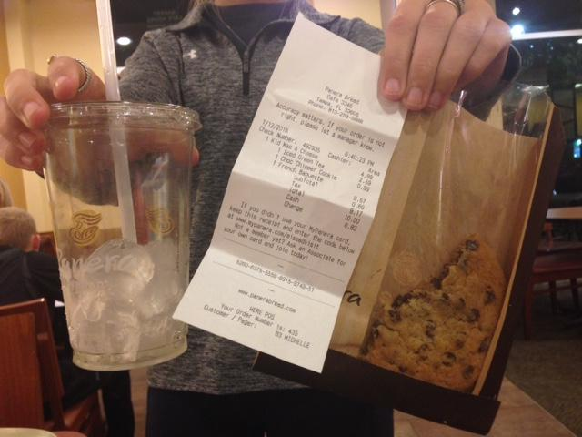 Costs for frequent study dates or visits to restaurants like Panera can add up quick.