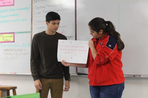 In TOK, Students Gain Knowledge About Knowledge
