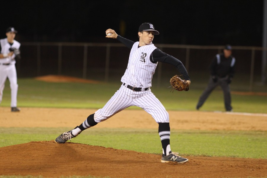 In his first varsity start as a pitcher, Matthew Steckel ('16) gave up only two unearned runs on one hit over five and two-thirds innings.