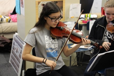 Orchestra, Band Students Participate in All-County