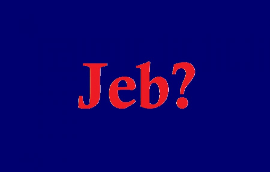 Something to Think About: What in the World Happened to Jeb?