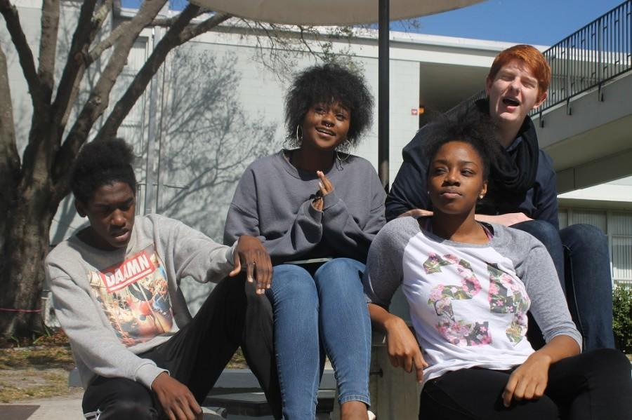 Jay Noble ('16), Taylor Nelson ('16), Shainiqua Williams ('16), and Eric Vance ('17) are The Real Humans of RHS.