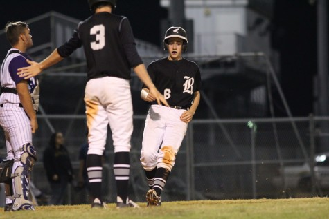 Baseball: Knights Dominate Spoto, 11-0