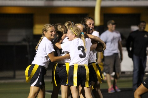 Flag Football: Knights Escape With 19-13 Win over Plant