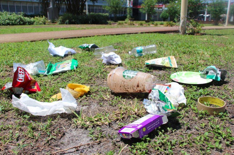 Miscellaneous+pieces+of+trash+are+littered+throughout+Robinson%27s+courtyard.+