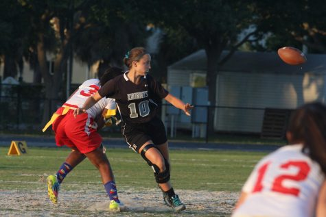 Flag Football: Knights Advance to Regional Finals After 32-0 Win Over Northeast