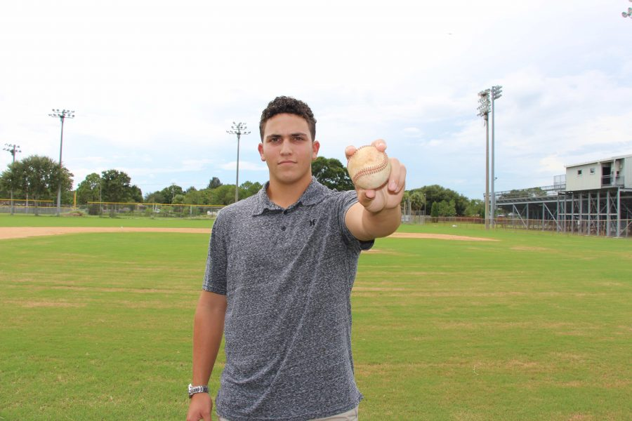 Pitcher+Peter+Feinman+%28%2717%29+moved+from+Virginia+to+Florida+in+hopes+of+improving+his+baseball+skill.