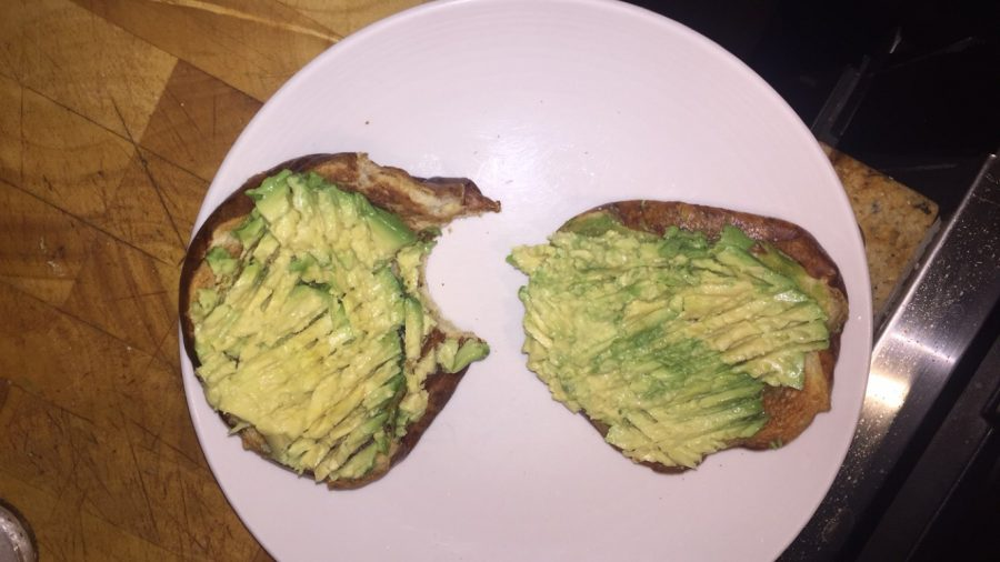 Avocado+toast+is+a+perfect+breakfast+addition.
