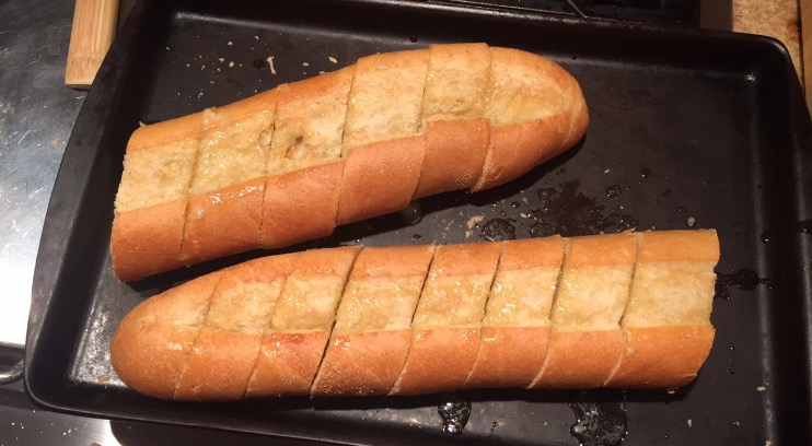 Garlic bread is a perfect addition to your next meal.