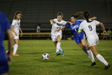 Knights struggle vs. Wharton 7-0 loss