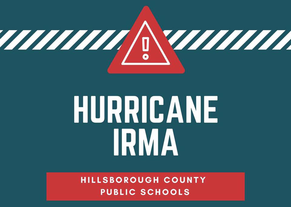 Hillsborough+County+Public+Schools+announced+Wednesday+afternoon+that+school+is+cancelled+Thursday+and+Friday+to+prepare+for+Hurricane+Irma.