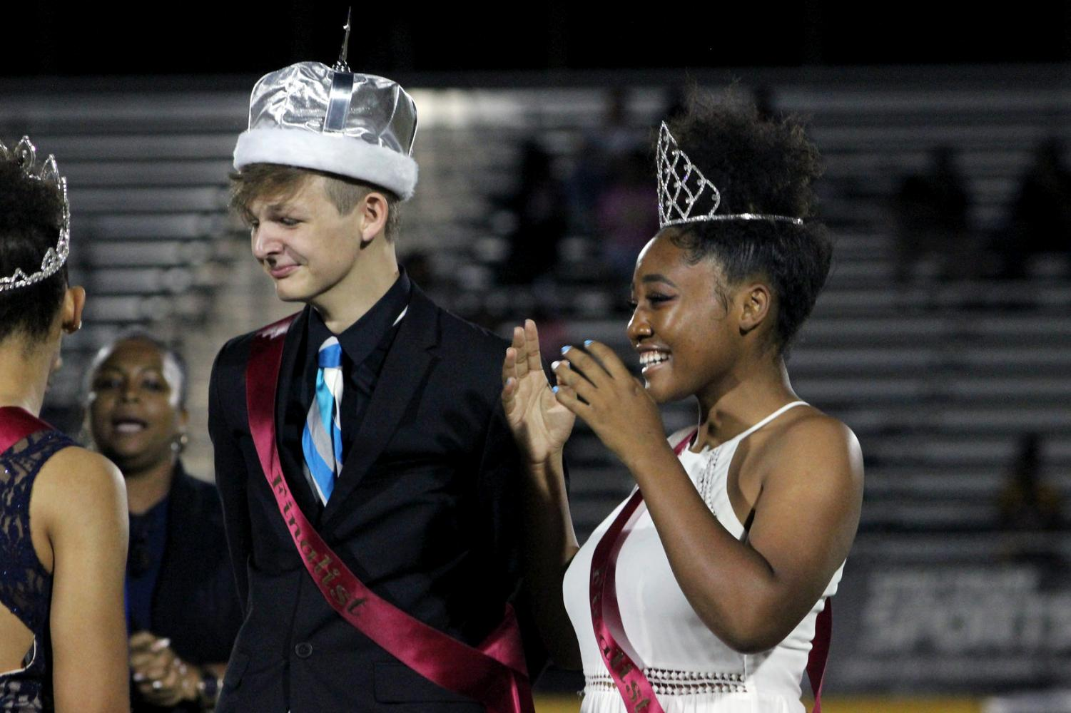 The 2017 Homecoming King and Queen were crowned at the football game against Middleton.