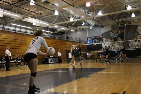 Lady Knights sweep Desoto County