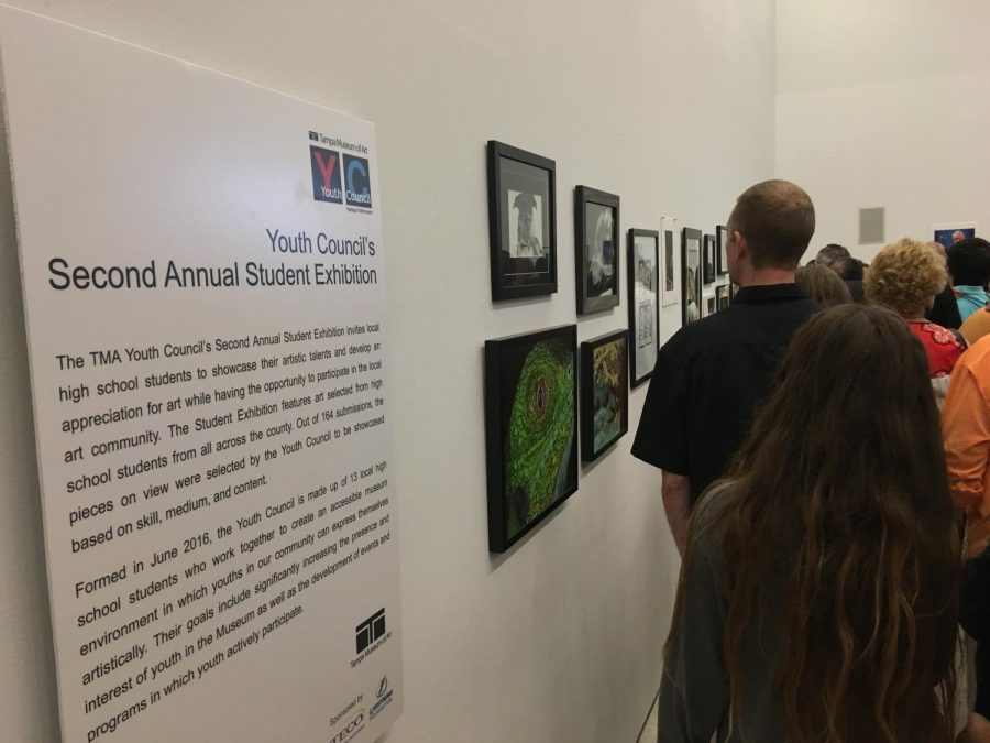 Robinson students shine in Tampa Art Museum's Fall Exhibition