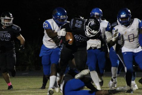 Varsity Football Falls Short Against District Foe Jefferson