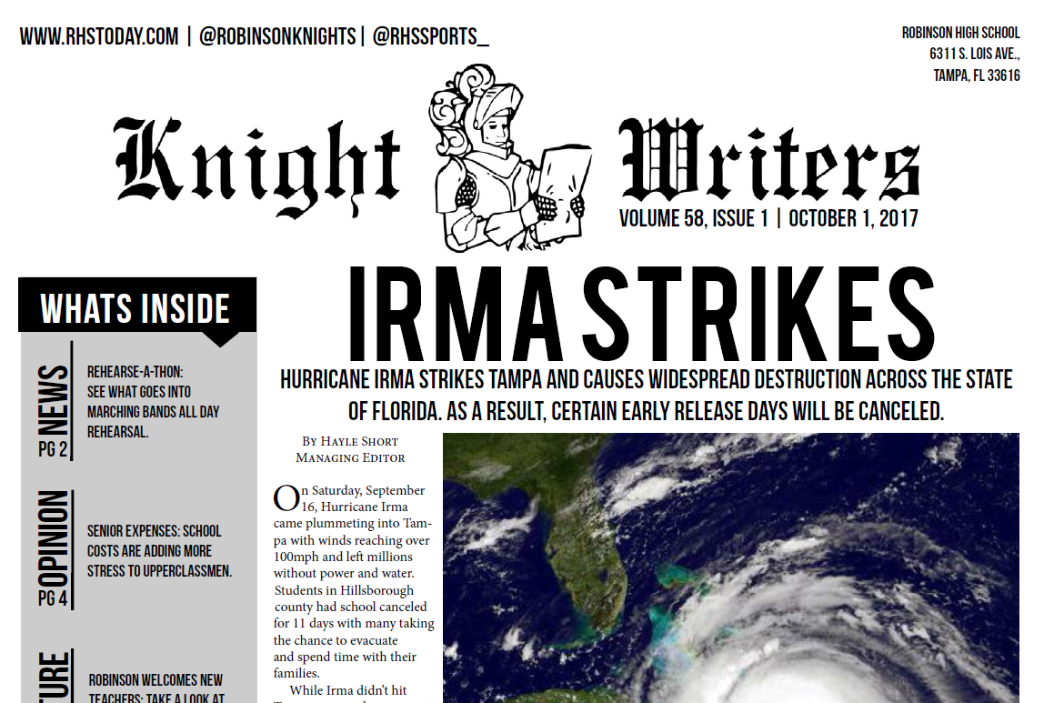 Knight Writers Issue 1 Out Now
