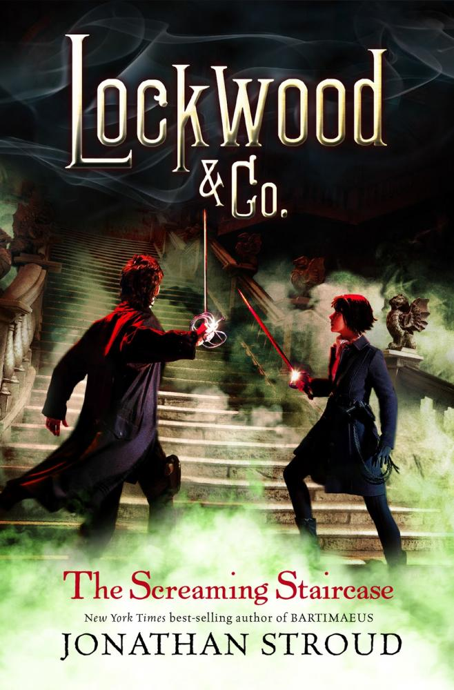 Book one of Lockwood and Co, The Screaming Staircase