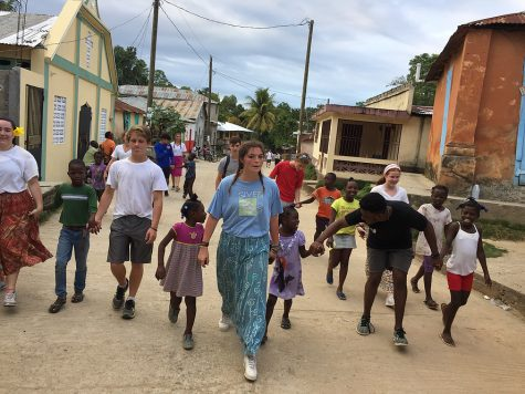 Teens for Haiti helping in Haiti