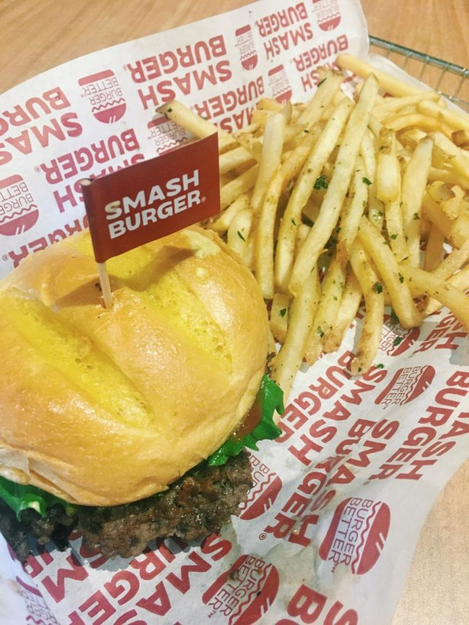 The Classic Smash Burger and Smash Fries