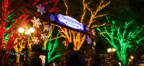 Busch Gardens Christmas Town spreads festive cheer throughout the park