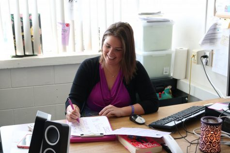 Robinson welcomes new teacher