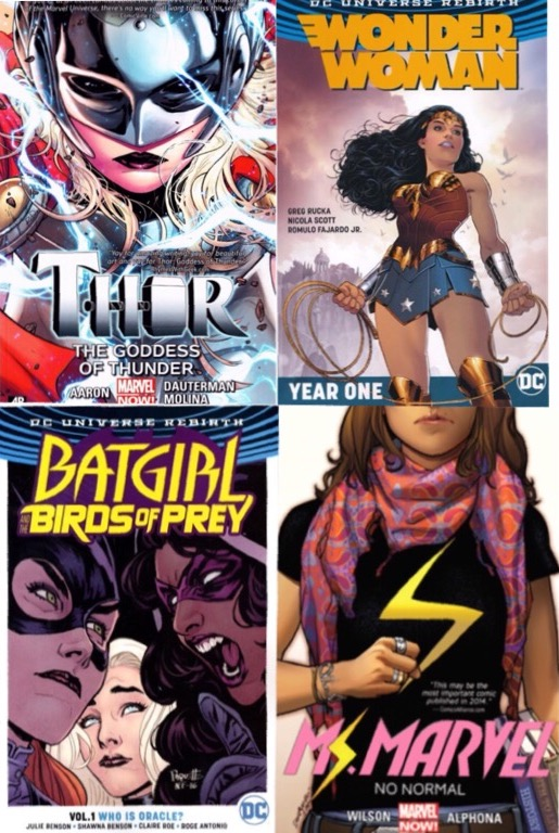 Girls+read+comics+too