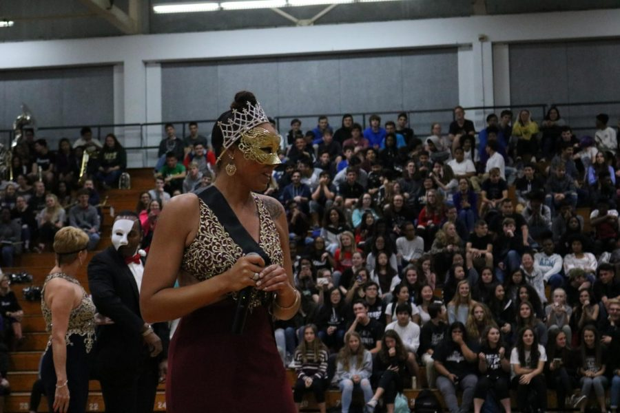 Assistant Principal for Student Affairs, Niki Locket, makes an appearances as the