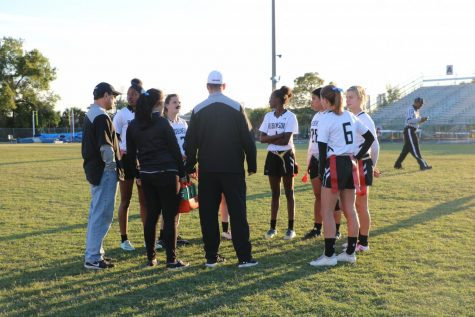 Flag Football Wins Third Straight District Title