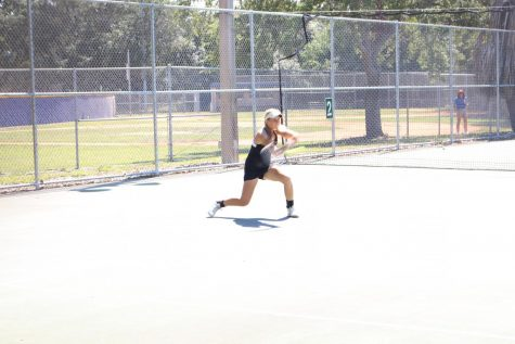 Girls tennis secures back-to-back district championships