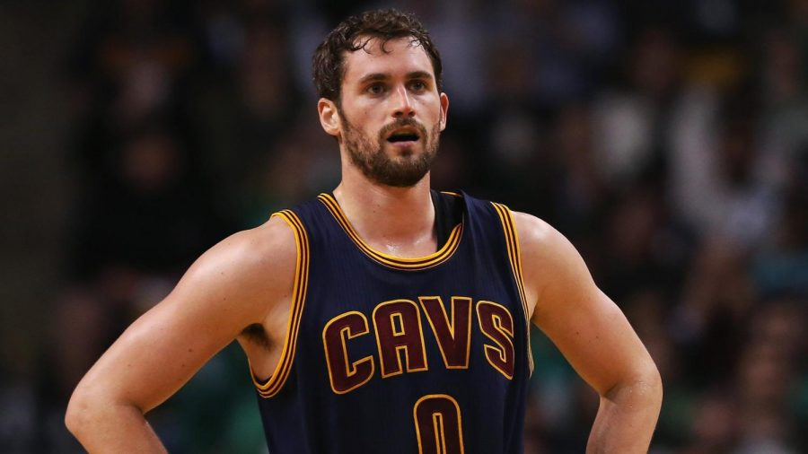 Kevin Love, center for the Cleveland Cavaliers, speaks out about mental health and how it is okay for men to show emotion.